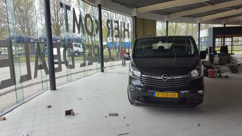 Verbouwing Opel Garage